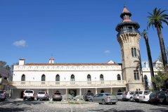 Entrada del Hotel Convento Almoraima