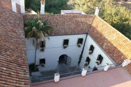 Patio interior que da acceso a La Gañanía