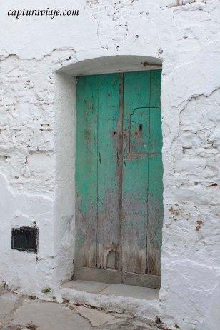Puerta casa alrededores del Castillo Castellar de la Frontera