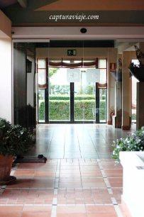 Entrada Hotel Castellar interior