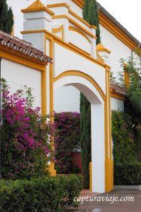 Entrada Hotel Castellar exterior