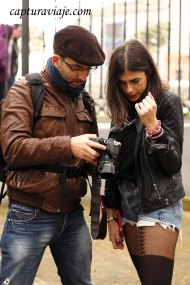 David e Inés comentan como ha quedado la foto