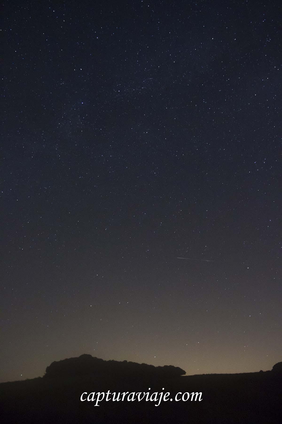 Eta Acuáridas 2013 Estrella Fugaz Y Neblina Capturadas Capturaviaje