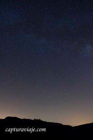 Eta Acuáridas 2013 - Noche estrellada