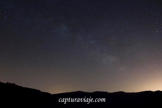 Eta Acuáridas 2013 - Vía Láctea esperando una estrella fugaz