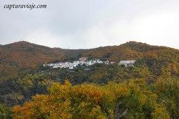 35 - Salida Agafona Valle del Genal - visión byn
