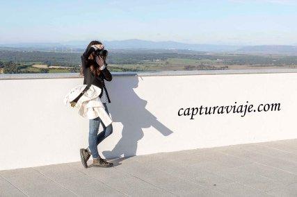 22 - Vejer de la Frontera - María haciendo un selfie - D
