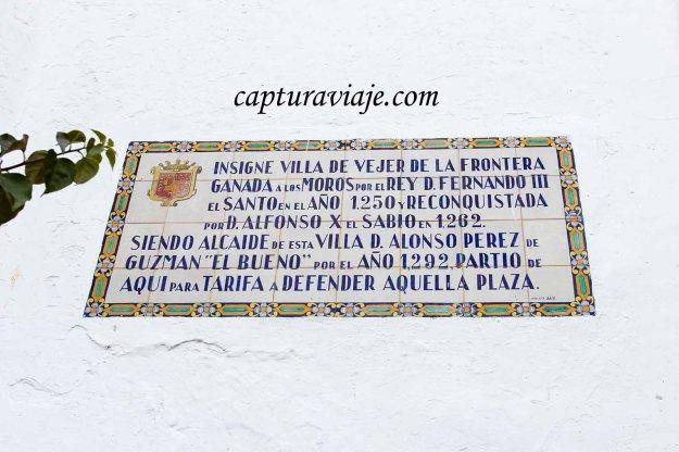 36 - Vejer de la Frontera - Leyenda Arco de la Villa - D