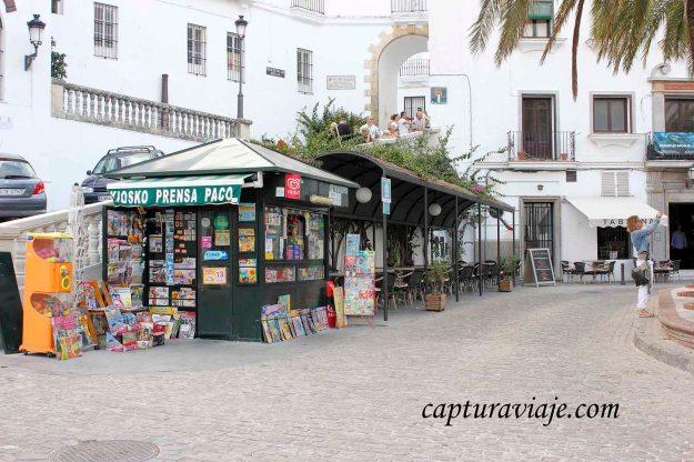 51 - Vejer de la Frontera - Quiosco plaza España - M