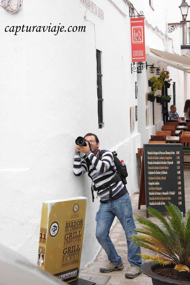 55 - Vejer de la Frontera - David fotografiando - M