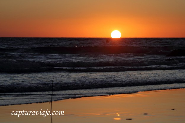 72 - Vejer de la Frontera - El sol se va en Playa El Palmar - D