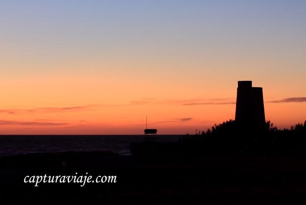 73 - Vejer de la Frontera - El sol se fue en Playa El Palmar - D