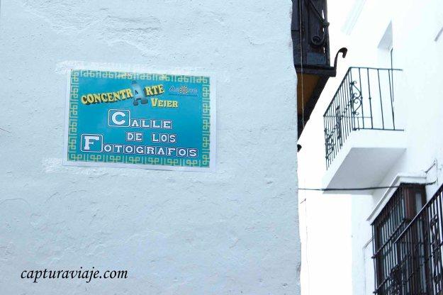 81 - Vejer de la Frontera - Calle de los fotógrafos - M