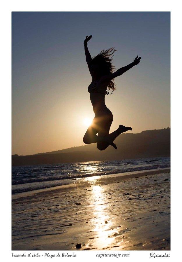 Tocando el cielo - Playa de Bolonia - Tarifa