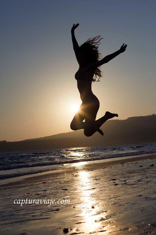 04 - Contraluz - Tocando el cielo - Playa de Bolonia - Tarifa