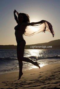 06 - Contraluz - Soñando con volar - Playa de Bolonia - Tarifa