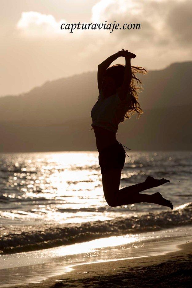 08 - Contraluz - Inaugurando los saltos de 2.014 - Playa de Bolonia - Tarifa