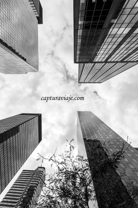 Apuntando al cielo - Manhattan - New York